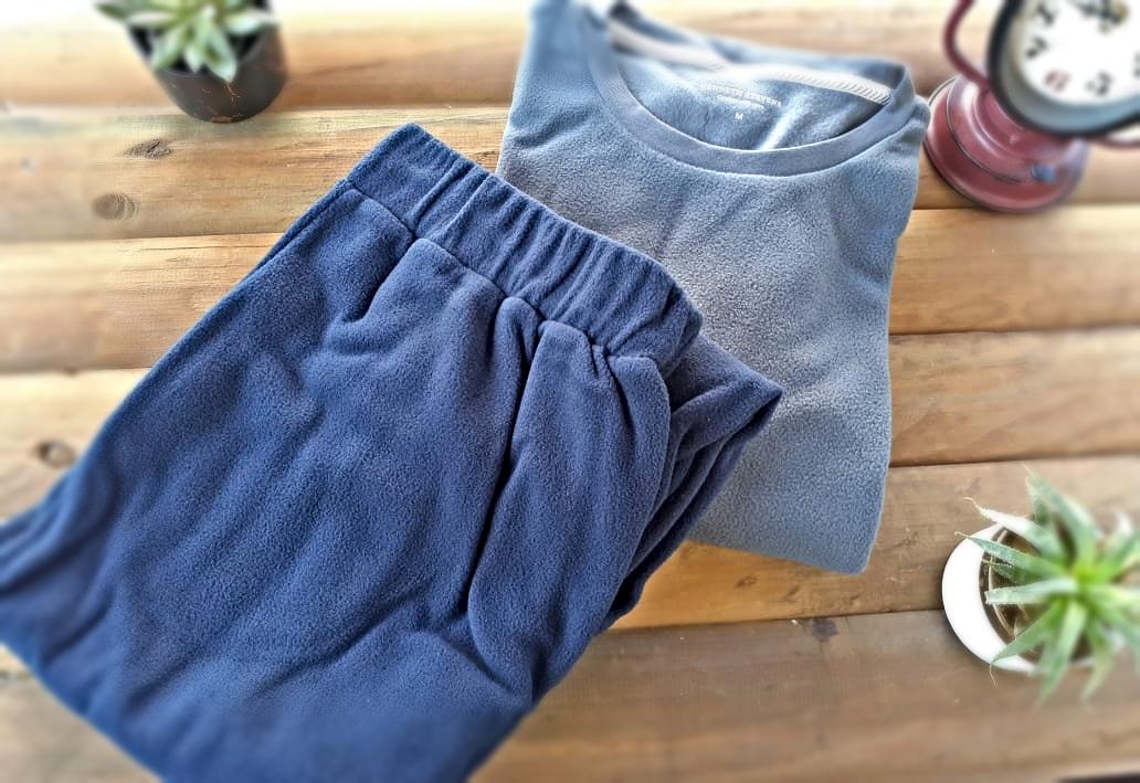 Pijama Hombre Talla M Azul