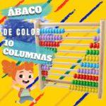 abaco de color madera diez columnas