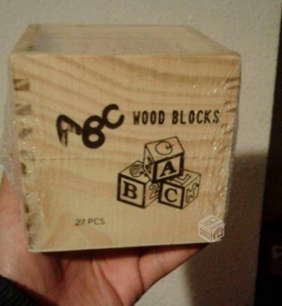 juegos de madera cubo