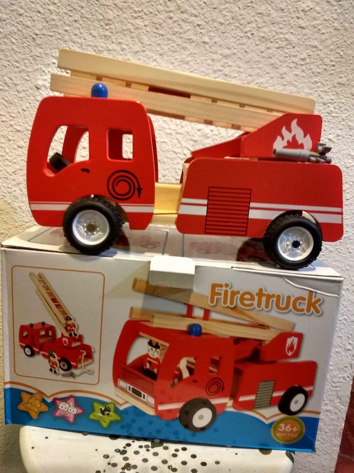 camion de bomberos bloques