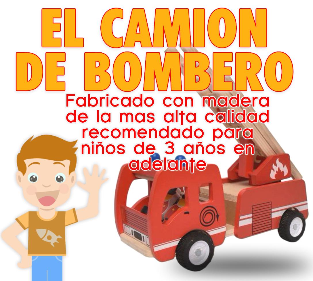 camion de bombero rojo