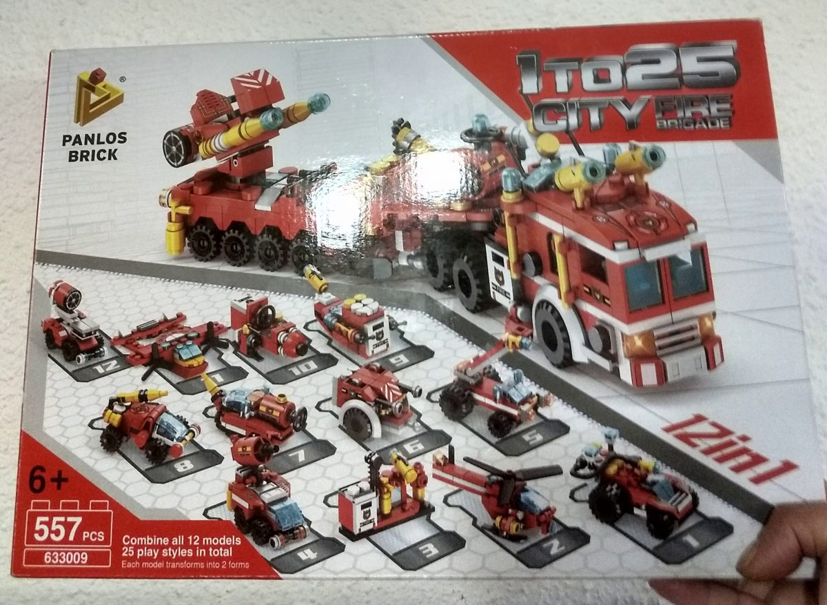 SET DE LEGO CAMION ROJO