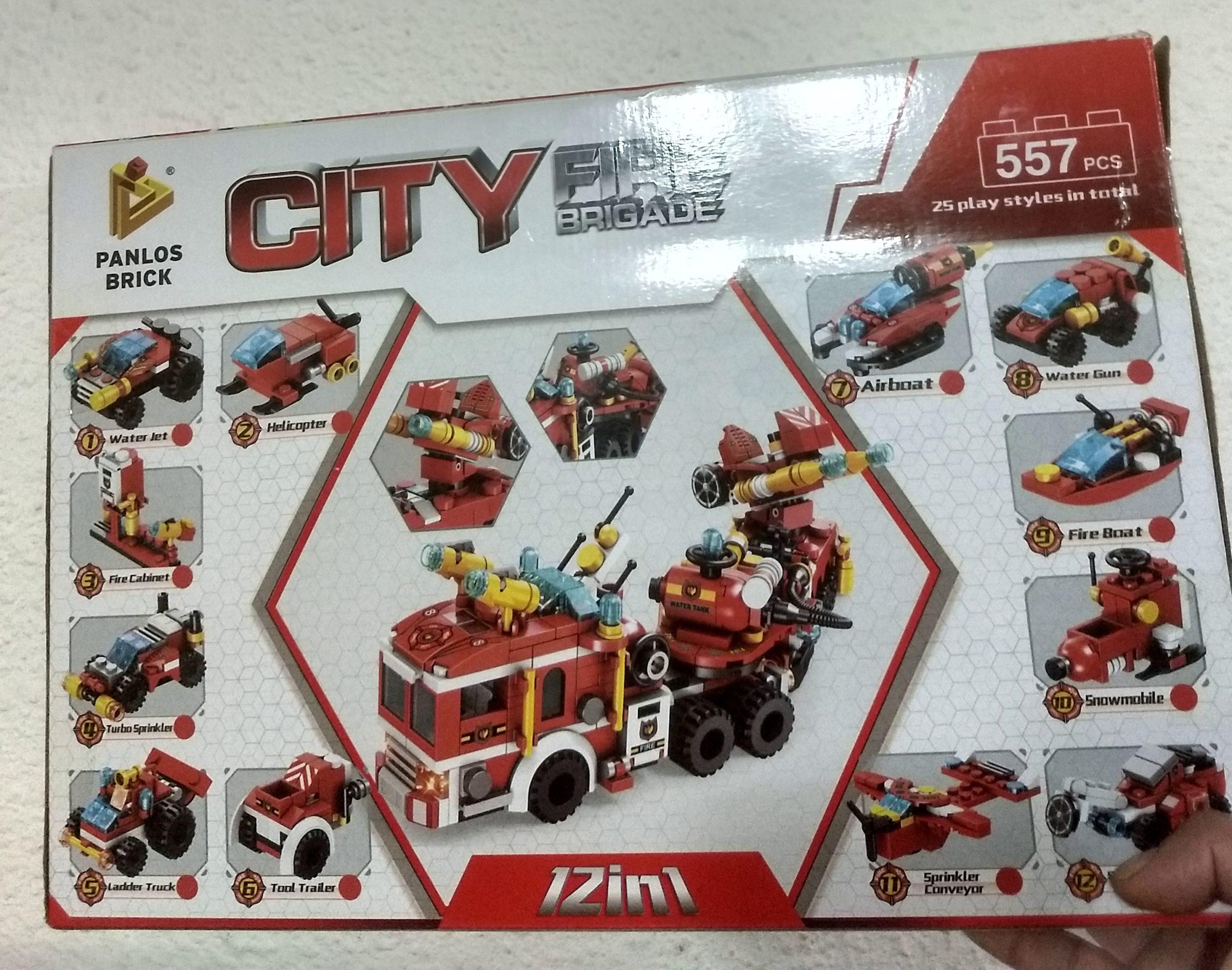 SET DE LEGO 557 PIEZAS