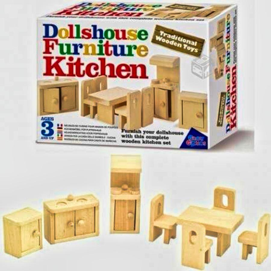 juguetes de madera set cocina